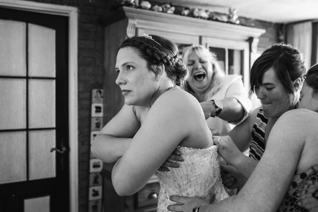 Journallistieke bruidsfotografie