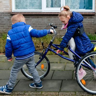 Gezin met beperkt kind